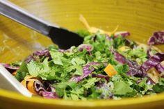 Raw Kelp Noodle Pad Thai (With or Without Seared Tempeh) Kelp Noodles, Raw Vegan Recipes, Vegan Raw, Pad Thai Sauce, Tempeh, Vegetable Salad, Food To Make, Veggies, Healthy Eating