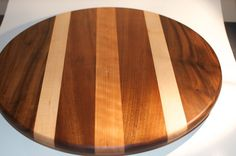 Wood Lazy Susan Handmade in North Carolina by BlowingRockWoodworks, $85.00