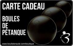 Cartes Cadeaux Pétanque - Boules de pétanque avec Boulistenaute.com