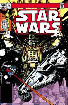 Marvel Comics of the 1980s: 1981 - Anatomy of a Cover - Star Wars #52