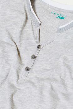 Layered jersey T-shirt, with organic cotton