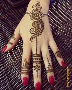 Mehndi designs Henna mehndi Mehndi art designs Simple henna Henna tattoo designs Henna designs - You can see here the Best Perfect Styles of Henna Mehndi Designs to make your hand and finger mo - Henna Hand Designs, Eid Mehndi Designs, Mehndi Designs Finger, Pretty Henna Designs, Modern Henna Designs, Henna Tattoo Designs Simple, Mehndi Designs For Beginners, Mehndi Design Photos, Mehndi Simple