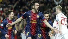 Pertandingan Liga Champions untuk kali ini akan mempertemukan Barcelona vs AC Milan yang akan digelar Pada hari Kamis (07/11/2013) Berlangsung di Camp Nou – Barcelona, Spanyol dan akan disiarkan LIVE di SCTV Pukul 02:30 WIB.