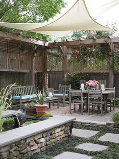 could probably replicate these expensive shades with sunbrella fabric sun shade pergola patio