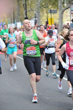 Running for Bowel Cancer UK in the Virgin London Marathon