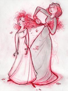 Merida and her mother
