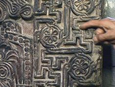 "In Armenia swastika is called ""arevakhach"" and ""kerkhach"" (Armenian: կեռխաչ)[31] and is the ancient symbol of eternity and eternal light (i.e. God). Swastikas in Armenia were founded on petroglyphs. During the bronze age it was depicted on cauldrons, belts, medallions and other items. Among the oldest petroglyphs is the seventh letter of the Armenian alphabet - ""E"" (which means ""is"" or ""to be"") - depicted as half-swastika."