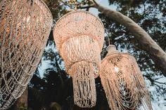 macrame lanterns - Nouba