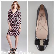 The Woman Wearing It #dvf #ferragamo #style #fashion #blog