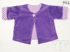 Lined Coat For Children Sewing Pattern