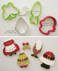Christmas Bellies Cookie Tutorial | Klickitat Street