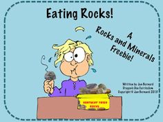 Dragon's Den Curriculum: Rocks and Minerals FREEBIE and more!