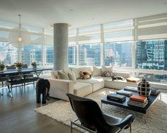 modern high-rise apartment