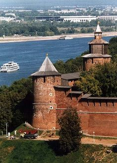 Нижегородский кремль город Нижний Новгород