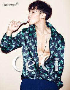 Gi Kwang - Ceci Magazine June Issue '15