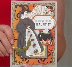 Card Making Kits, Anna Griffin Cards, Halloween Cards, How To Get