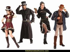 steampunk costums-steam punk costumes-steampunk clothing - Steampunk Costumes and Accessories