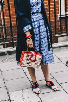 Save, spend, splurge: lfw street style