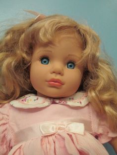 Beautiful Vinyl/Cloth Baby Doll by Susan Wakeen, 1998