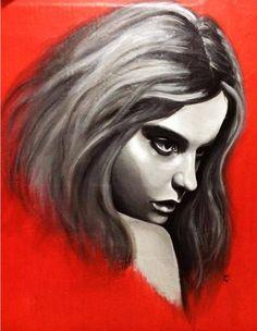 Acrylic on wall 70x80cm