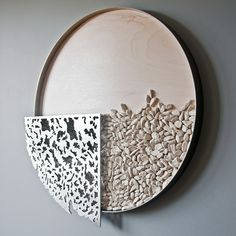Marie-Andrée Côté - latest works - the rocks are made of porcelain!