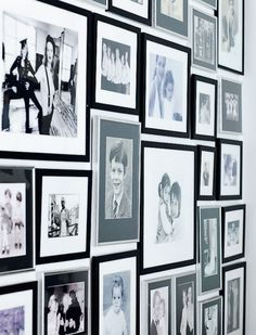 gallery wall, Trinny | Femina