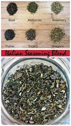 Italian Seasoning Blend ~ The Complete Savorist