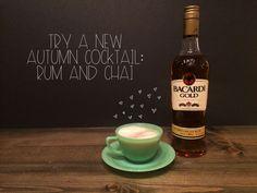 Rum & Chai Autumn  #cocktial   Red Autumn Co.