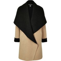 Ralph Lauren Black Label Double-Faced Wool-Angora Coat (11 840 SEK) ❤ liked on Polyvore featuring outerwear, coats, jackets, coats & jackets, casacos, camel, camel wool coat, oversized camel coat, oversized coat y camel coat