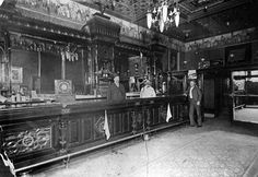 1800's Colorado Old Wild West Bar.