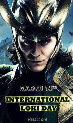 International Loki Day- March 31st or April 1st