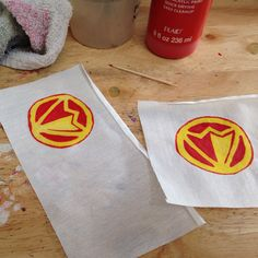 I'm making a new series of Christmas ornaments based on one of my favorite superheroes- The Falcon.  These will replace my older Falcon ones when I had not yet found a good logo to represent him.  This links to an old one, but watch for the new ones soon!