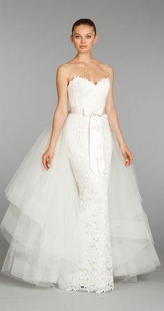 Lazaro Otoño 2013 Colección de Vestidos de Novia - Belle Magazine. El Blog de la boda para la novia sofisticada