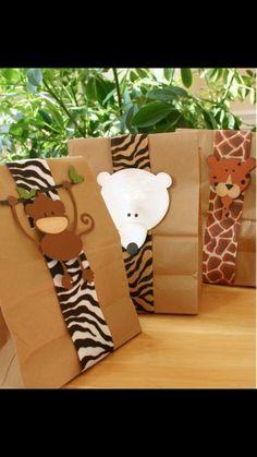 ideias de embalagem para lembrancinhas de aniversário printable template for zoo safari party Safari Party, Jungle Party, Jungle Theme, Safari Theme, Jungle Safari, Safari Birthday Party, Birthday Parties, Animal Birthday, Birthday Presents