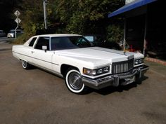 1975+cadillac+sedan+deville | 1975 Cadillac Coupe de Ville