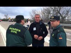 Marcha en apoyo a Andrés Bódalo hasta la cárcel de Jaén. VÍDEO: PERAGÓN
