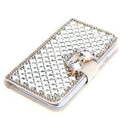 For LG G Stylo Case, Moonmini® 3D Luxury Bling Rhinestones Diamonds Bow Bone PU Leather Flip Case Cover Wallet with Card Holders for LG G Stylo (White) Moonmini http://www.amazon.com/dp/B013BGK4DC/ref=cm_sw_r_pi_dp_7JcPwb1HT4TY9