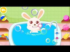 Baby Panda Bath Time  Play Bath Toys In The Shower  Play Apps For Kids #babypanda #games #kids