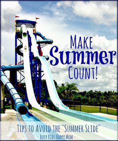 Make your child's summer count with these awesome learning ideas and activities. #summer #summerlearning #learning