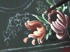 Pássaro com flores em Bauer - Peça completa - Rosas - Vídeo 2 de 5 - YouTube