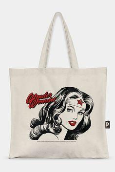 Ecobag DC Comics Wonder Woman Fashion #DCComics #LojaDCComics #WonderWoman