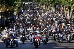 Harley Davidson days in Barcelona