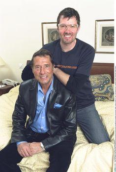 een momentopname van Udo en John. 2002