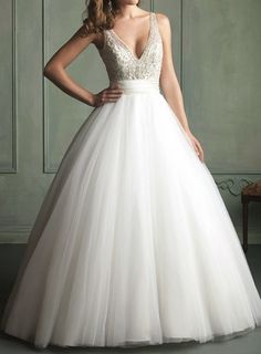 2014 new arrival  ballgown features beaded bodice by EternalBridal, $399.00
