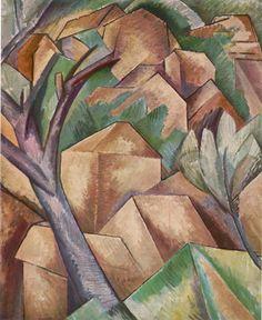 Georges Braque | Georges Braque: Casas en l'Estaque.