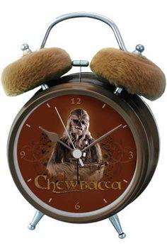 Star Wars Wecker mit Sound Chewbacca  Star Wars Wecker / Uhren - Hadesflamme - Merchandise - Onlineshop für alles was das (Fan) Herz begehrt!