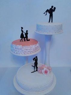 Originálna svadobná torta od EmmaV - Tortyodmamy.sk