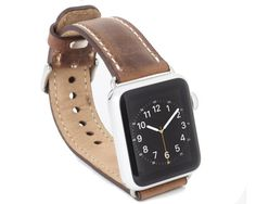 Leather Apple Watch Band 38mm Boyfriend Gift Wearable Tech Apple Watch Strap Apple Watch Band 42mm mens leather watch band
