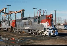 RailPictures.Net Photo: SP 4348 Southern Pacific Railroad SD9E at Roseville, California by Steve Schmollinger