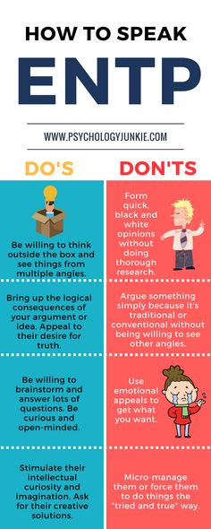 Some simple tips for communicating with an #ENTP